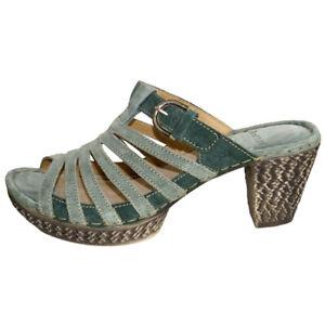 Josef Seibel Julia 03 Womens Ladies Mules Heel Slip On Sandals Open Toe UK 8