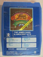THE JAMES GANG 16 GREATEST HITS VINTAGE 1973 8 TRACK TAPE CARTRIDGE 8022-801 ABC