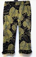 TS pants TAKING SHAPE VIRTU plus sz S -M / 18 'La Palma Crop' stretch cotton NWT