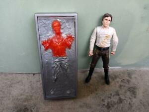 Star Wars Han Solo with Carbonite Block