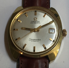 OMEGA AUTOMATIC SEAMASTER COSMIC MEN'S WATCH GOLD WRIST VINTAGE