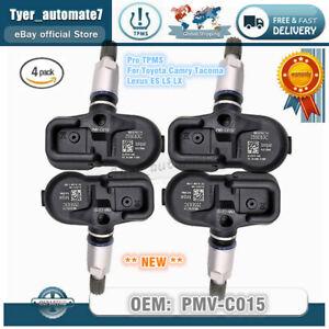 4x New 42607-06030 Tire Pressure Sensor Monitor TPMS PMV-C015 For TOYOTA CAMRY
