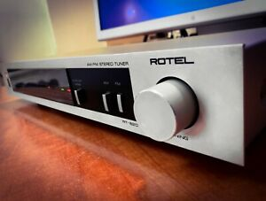ROTEL MODEL RT-820 (1986) Vintage Stereo Tuner Deck 💥RARE💥