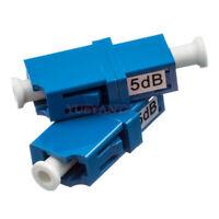10PCS LC UPC 5dB Simplex mode Fiber Optic Attenuator LC Male Fiber Attenuator