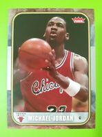 Michael Jordan 2007-08 Fleer Card #4..................   Chicago Bulls Great