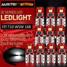 10pcs Super White T10/194/501/W5W RV Trailer LED Wedge Car Dome Map Light Bulb