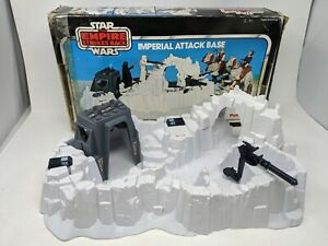 VINTAGE STAR WARS IMPERIAL ATTACK BASE BOXED COMPLETE PALITOY ESB