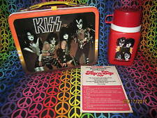 KISS Lunchbox and Thermos, 1977, Paperwork included