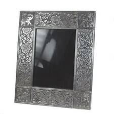 ELEPHANT PHOTO PICTURE FRAME 7 x 5 recycled aluminium metal fair trade handmade