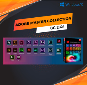 🚀🚀 Creative Cloud CC 2021 Master Collection Lifetime Activation -windows 64