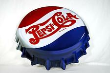 Ande Rooney Tin Sign - Pepsi Cola Bottle Cap Die Cut  - New