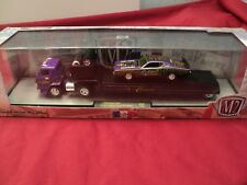 M2 Machines 1969 Dodge L600 & 71 dodge charger R/T Hemi  1/64 scale NIB 1of 7000