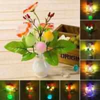 LED Light Induction Lamp Mushroom Colorful Luminous Vase Led Sensor Light New