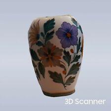 More details for gouda holland hand painted flora original vase c.1930's nr: 1492
