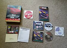 Need for Speed II Big Box Video Game (PC, 1997) W/ Nascar racing 2 & Road Racing