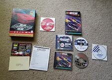 Need for Speed II Big Box Video Game (PC, 1997) W/ Nascar racing 2 & Road Racing