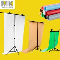 Backdrop Support Stand PVC Photography Photo Studio Background +++ Clamp