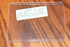 Bob Duliba, Cardinals, Red Sox, Angels, A'S signed Cut Autograph