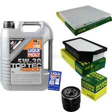 Inspection Kit Filter LIQUI MOLY Oil 5L 5W-30 for Kia Rio (III) Ub 1.25 CVVT