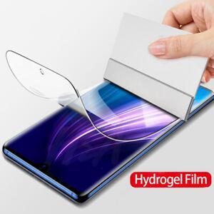 Hydrogel Film Full Cover Screen Protector For Xiaomi Redmi 10X 5G Note 9S Redmi9