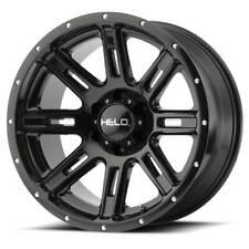 18x9 HELO HE900 6x120 ET0 Black Wheels (Set of 4)