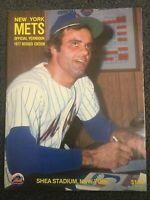 1977 New York Mets Yearbook - Baseball - Complete Issue