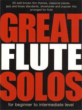 Great Solos 60 Film Pop Songs Jazz Blues Klassik Noten Flute Querflöte