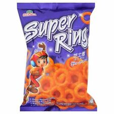 Oriental Super Ring Cheese Flavour Snack With Natural Colours Contains Real Che