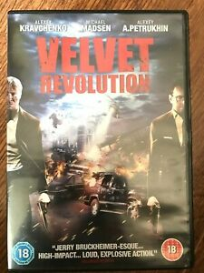 Velvet Revolution DVD 2005 Moscow-Set Thriller Movie w/ Michael Madsen