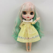 """Takara 12"""" Neo Blythe MIX Hair joint body Nude Doll from Factory TBY223"""