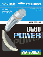 Yonex BG 80 Power Badmintonsaite 10m