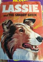 LASSIE and the SHABBY SHEIK Vintage Big Little Book Collie Dog Book 1968
