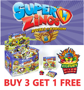 SUPERZINGS NEW SERIES 5 KID FURY GOLD SILVER & AEROWAGONS *PICK YOUR OWN*