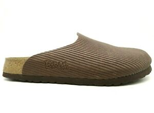 Birkis Logo Brown Casual Slide Mule Loafers Shoes Women's 40 / 9