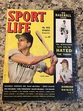 October 1949 Sport Life Magazine RALPH KINER DALE MITCHELL Big Baseball Issue