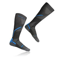 Hilly Energise Mens Womens Black Knee Length Compression Running Sports Socks