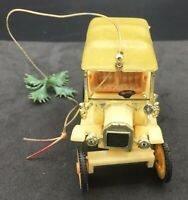 Vintage Vehicle Model A Or Model T Christmas Ornament