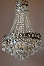 Antique French Crystal Chandelier, Home & Living Vintage Ceiling Lighting,Lamps