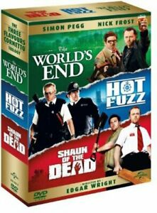 The Worlds End/Hot Fuzz/Shaun of the Dead [DVD] [2004][Region 2]