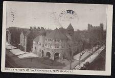 Antique RPPC Postcard Bird's Eye View of Yale University New Haven, Ct. - 1908