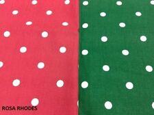 Spotted Clarke & Clarke Craft Fabrics