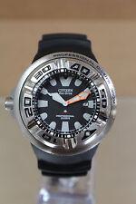 Citizen Eco-Drive BJ8050-08E Professional Diver Wrist Watch for Men - Clean