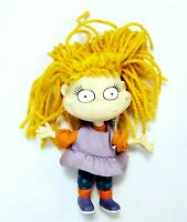 Vintage 1997 Nickelodeon Rugrats Angelica Doll Viacom Toy Arcotoys Yarn Hair