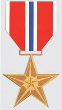 Bronze Star Medal Sticker - Decal - Made In The Usa!