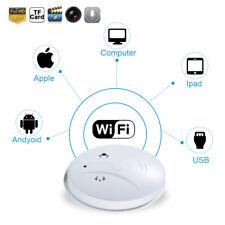 Wifi Spy Camera Hidden IP DVR Recorder Smoke Detector HD 720P NannyCam For Iphon