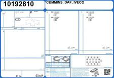Conjunto Completo De Motor Junta Iveco Eurocargo tectores E16 16V 3.9 160 F4AE3481D (9/06 -)