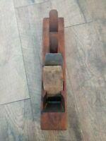 "Antique Wood Plane Block Ohio Tool Co. Blade Woodworking Tools 15"""
