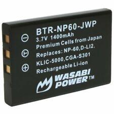 Wasabi Power Battery for Hewlett Packard NP-60, A1812A, L1812A, L1812B,