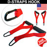 D Handle Fitness Straps Stirrup Foam Handle Strength Gym Training Foam Grips