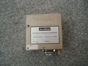 AccuBeat AR-60A Rubidium Frequency Standard 10 MHz Tested